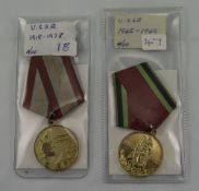 USSR  1945-1965 Medal Together With A US