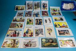 Approx 400 Comic Postcards