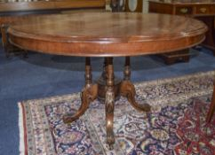 Victorian Mahogany Hall/Breakfast Table