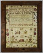 ***WITHDRAWN***George III Sampler, Hand