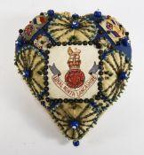 World War I Large Heart Shaped Sweethear