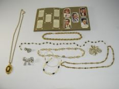 A Good Collection Of Costume Jewellery.