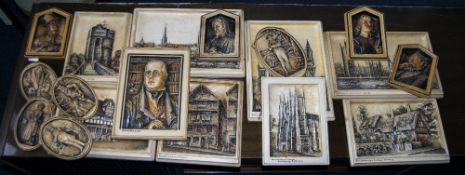 Collection of Osborne Plaques.