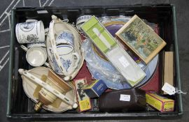 Box of Assorted Collectables.