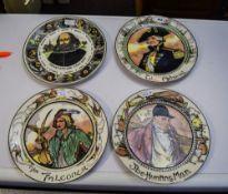 Royal Doulton 4 Cabinet Plates Comprisin