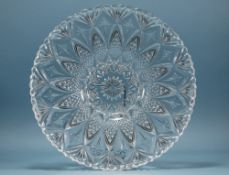 Dartington Crystal Centrepiece Bowl In The Diana Collection, With Box