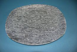 Midwinter Tonga Pattern Stylecraft Shape Large Oval Plate c 1955