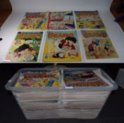 Large Quantity Of Comics, Comprising The Dandy, The Beano, Whoopee, Knockout, Nutty, Beezer Etc.