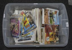 Box Containing A Quantity Of Mixed Ephemera Comprising A Collection Of Parade, UK Wives, Adventure