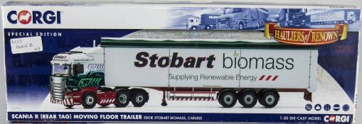 Corgi/Eddie Stobart Interest Scania R (Rear Tag) Moving Floor Trailer CC13756