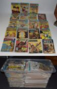 Large Box Containing A Quantity Of Comics, Titles Include The Beezer, The Beano, Whizzer And
