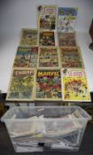 Quantity Of Comics, Comprising Smut, Krazy Comic, Champ, The Dandy etc