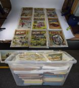Large Quantity Of Comics, Comprising The Dandy, Tammy, The Beano, Wow, Magic, Beezer, Whizzer And