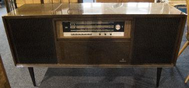 Grundig Radiogram With Integral Record Deck/Radio
