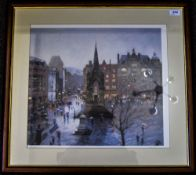 Limited Edition Framed Print Depicting A