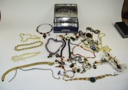 Mixed Lot Of Costume Jewellery To Includ