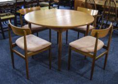 G Plan Dining Table, Of Circular Form, E