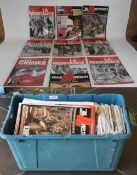 Box Containing A Large Quantity Of Magaz