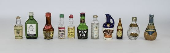 Collection Of Assorted Miniature Bottles