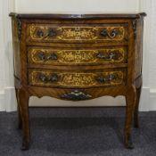 A Louis XV Style Kingwood and Ormolu Mou