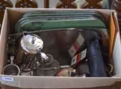 Box Of Miscellaneous Items. Comprising S