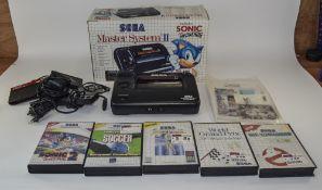 Sega Master System II In Original Box