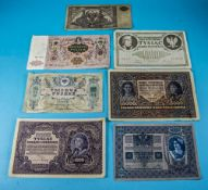 Collection of Continental Bank Notes, mo