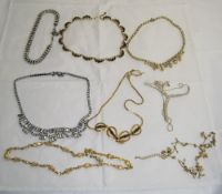 Collection of Crystal Necklaces comprisi