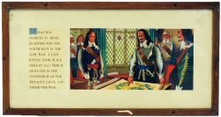 Carriage Print 'Wigan, Charles I's H.Q. North West, Civil War, 1651' by Bill Sawyer from the LMR