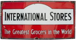 International stores the greatest grocer