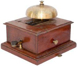 NER split cased block bell & tapper