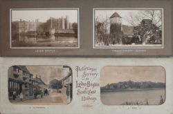 LBSCR carriage prints a pair consisting of ALFRISTON and RYE in original card mount titled