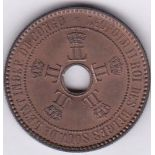 Belgian Congo 1894 - 5 cents, (KM3), UNC with full lustre