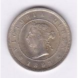 Jamaica 1893 - Farthing, AUNC, a lovely coin (KM15)