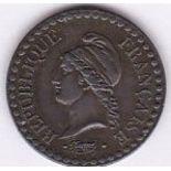 France 1851A - Centime, (KM754), AUNC