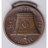 Ireland 1829-1929 - Bronze token/medal very scare, VF