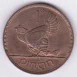 Ireland 1931 - Penny AUNC (KM3) much lustre