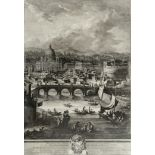 GIUSEPPE VASI (1710-1782) ROME: LE ROVINE DELLE ANTICHE MAGNIFICENZE DI ROMA CHE SI VEGGONO NEL