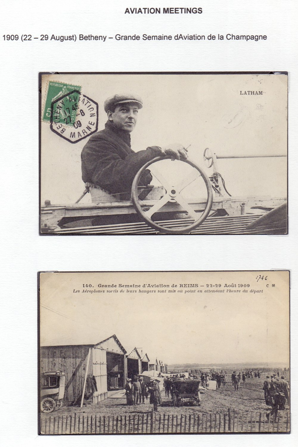 Postal History Airmails: FRANCE, a fine - Image 6 of 7
