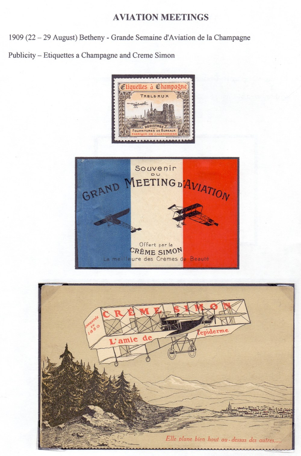 Postal History Airmails: FRANCE, a fine - Image 4 of 7