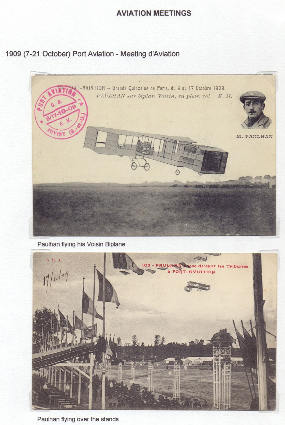 Postal History Airmail: FRANCE, fine col - Image 6 of 7