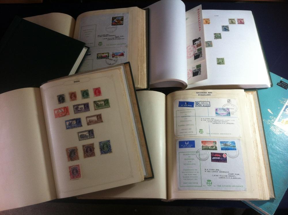 Lot 14 - World stamp Accumulation in nine albums