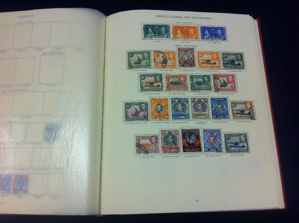 Lot 1 - BRITISH COMMONWEALTH stamps, used collec