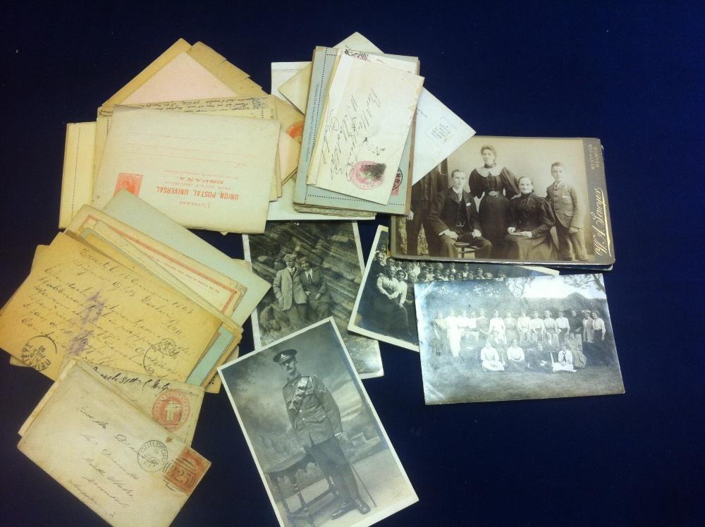 Lot 54 - Postal History: Small batch of mixed ear