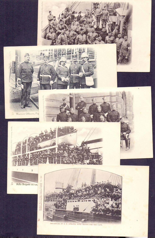 Lot 116 - Postal History : Boar War, 1900s five un
