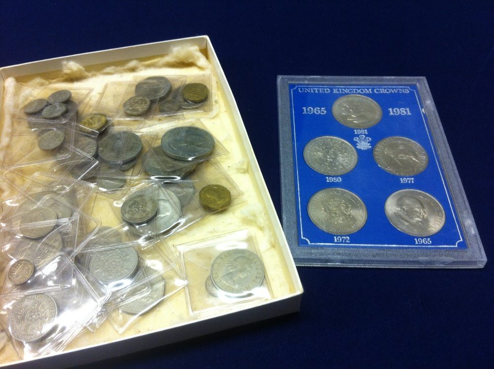 Lot 37 - COINS: Small box of mainly pre-decimal G