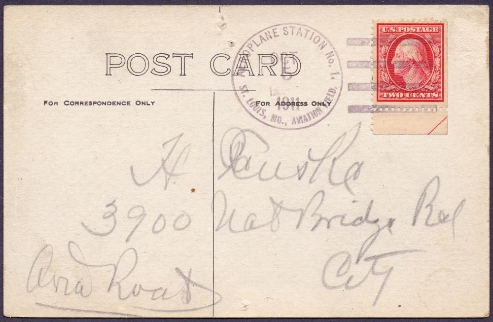 Lot 83 - Postal History , Airmail: USA, 1911 5th