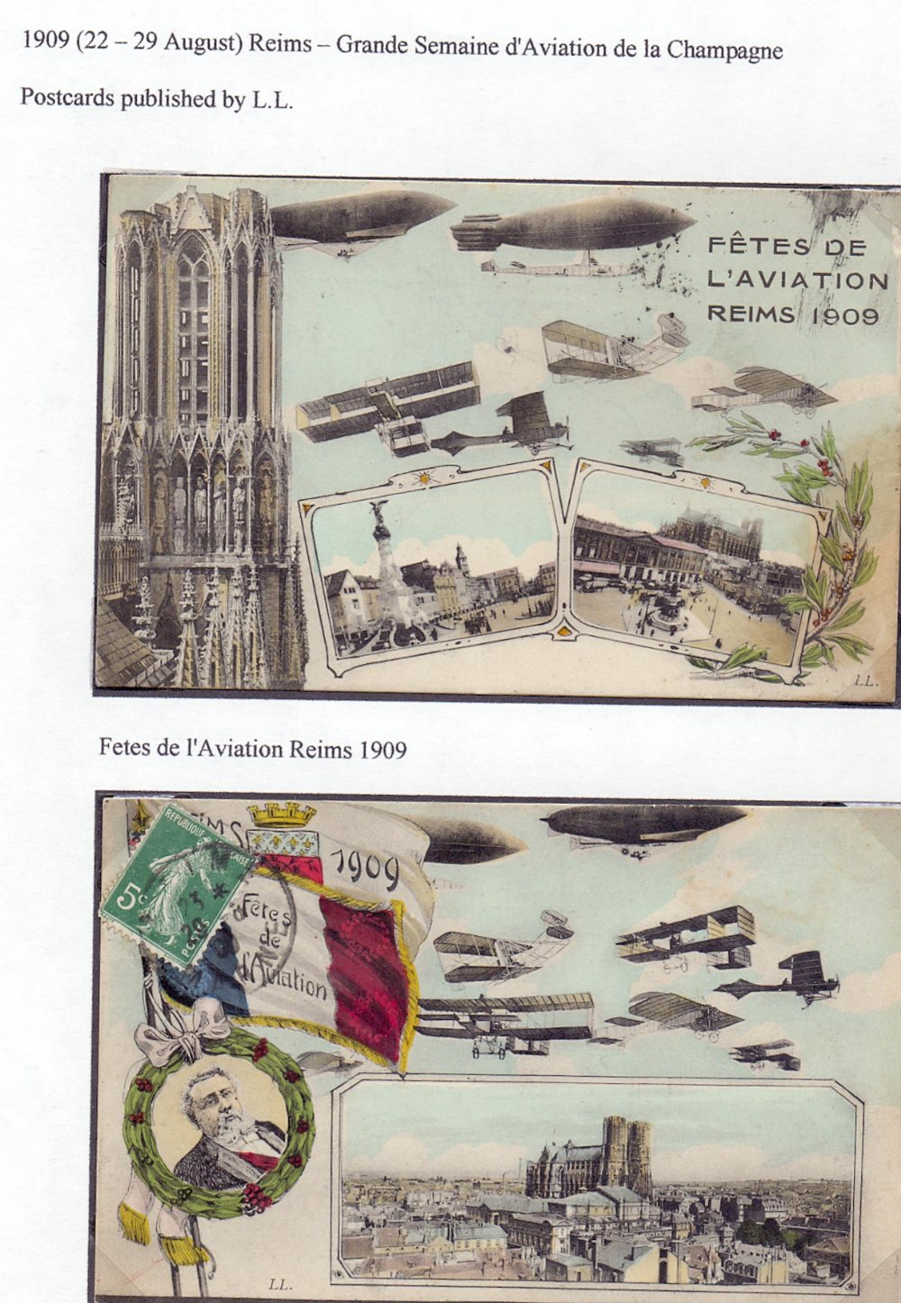 Postal History Airmails: FRANCE, a fine - Image 2 of 7