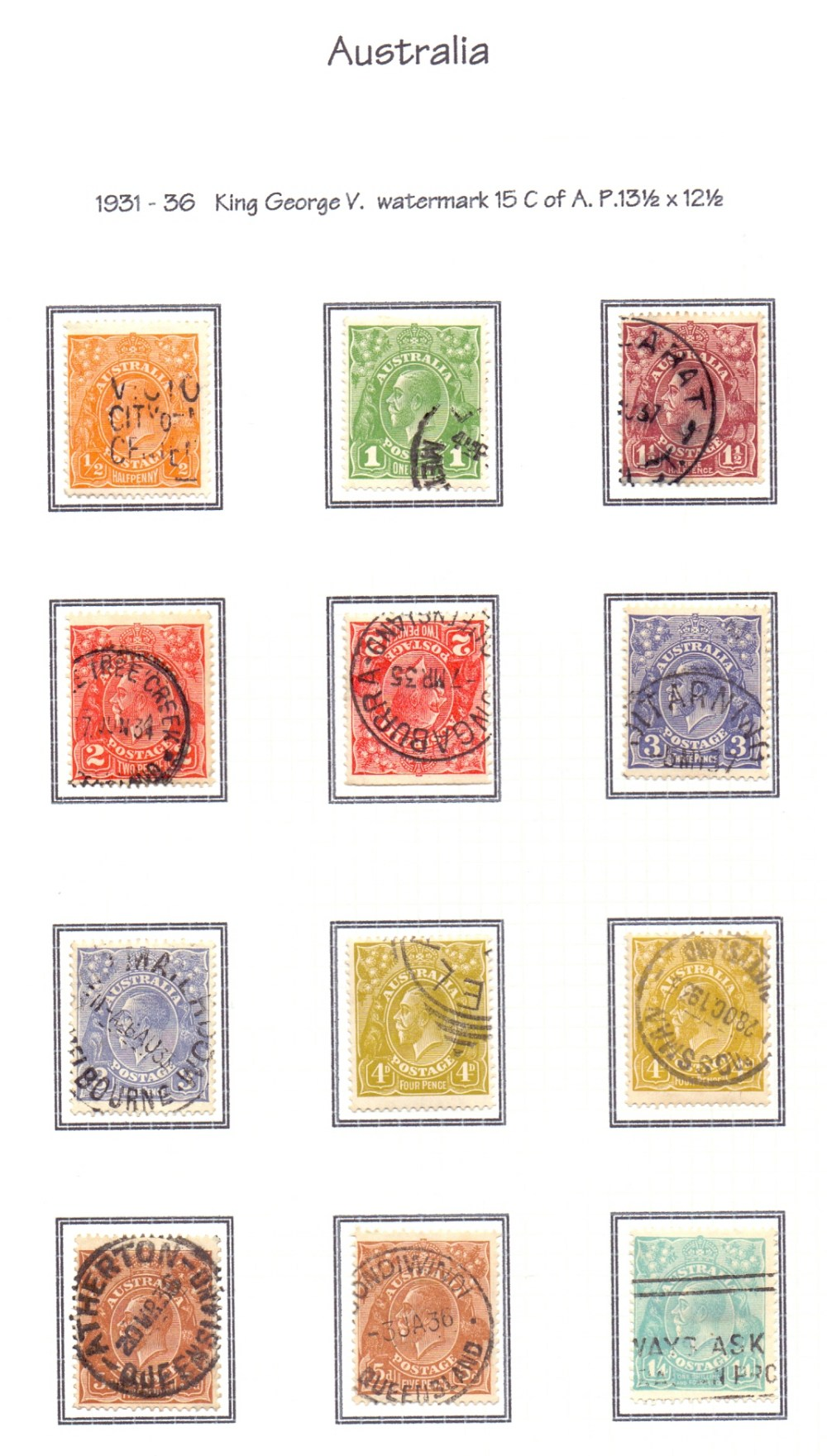 Lot 5 - BRITISH COMMONWEALTH stamp collection, G