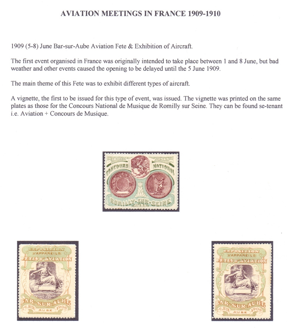Lot 73 - Postal History Airmail: FRANCE, fine col